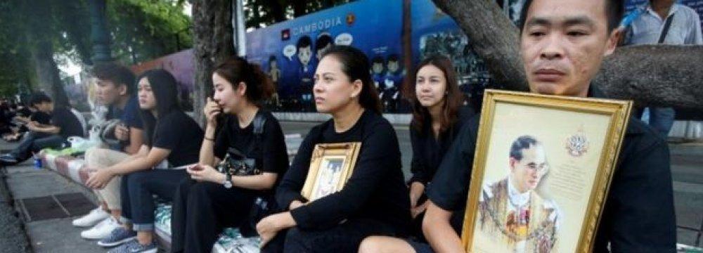 Thais Mourn Loss of King Bhumibol