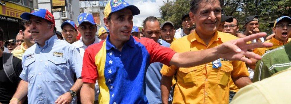 Venezuela Opposition Leader Vows to Win