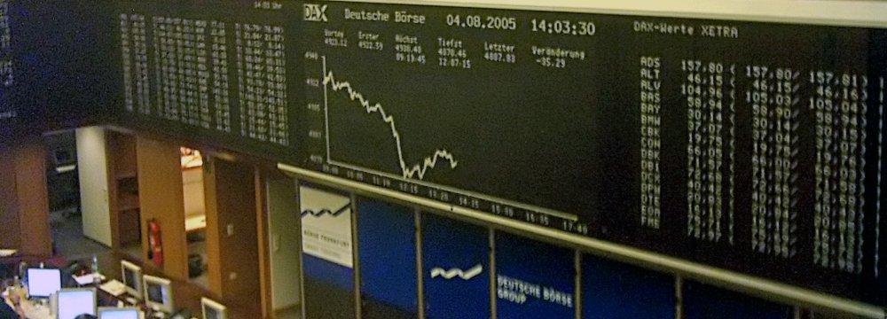 Global Markets Slip
