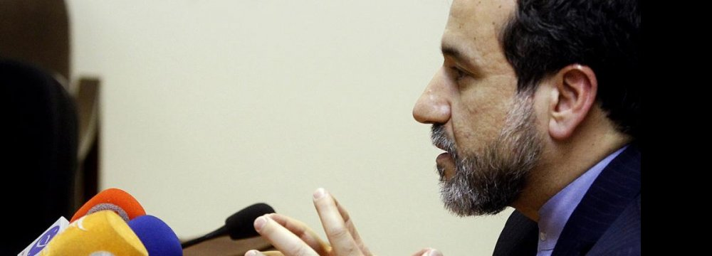 Negotiator Holds Out  Hope for Nuclear Deal