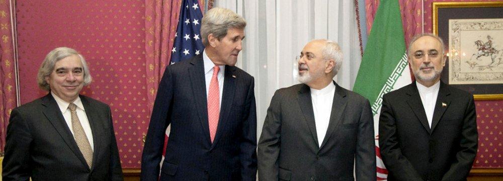 Majlis Sets Conditions as  Zarif, Kerry Meet