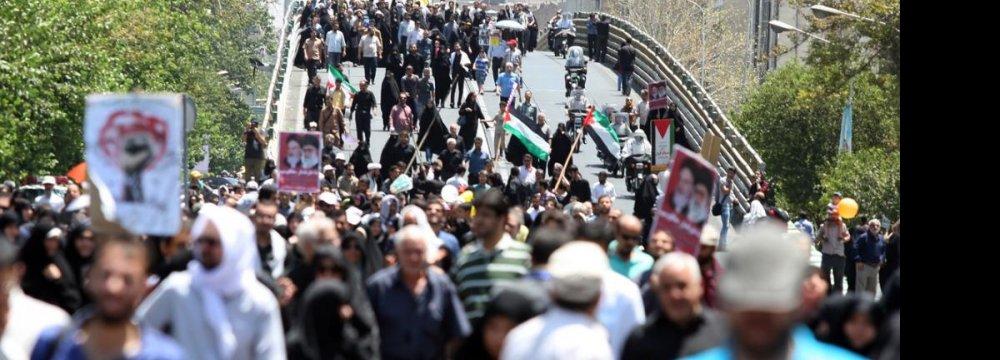 Renewed Backing  for Palestinian Cause