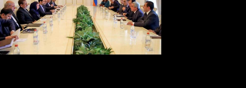 Connectivity Projects With Armenia Take Center Stage