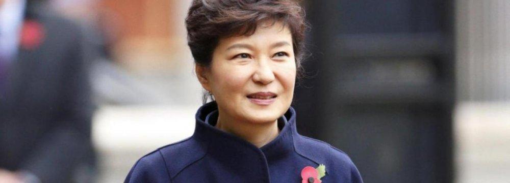 S. Korea's Park to Visit