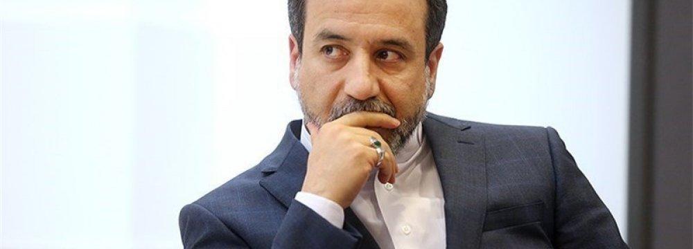 Araqchi: IAEA's Iran Office Legitimate