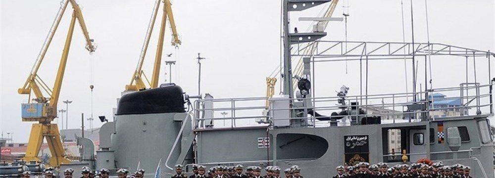 Navy Flotilla Docks at Tanzania Port