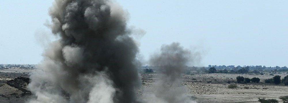 IRGC Starts Massive Drill
