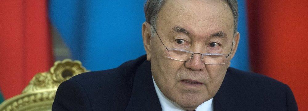 Kazakh President Expected