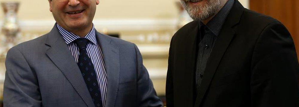 Speaker Reaffirms Support for Syria
