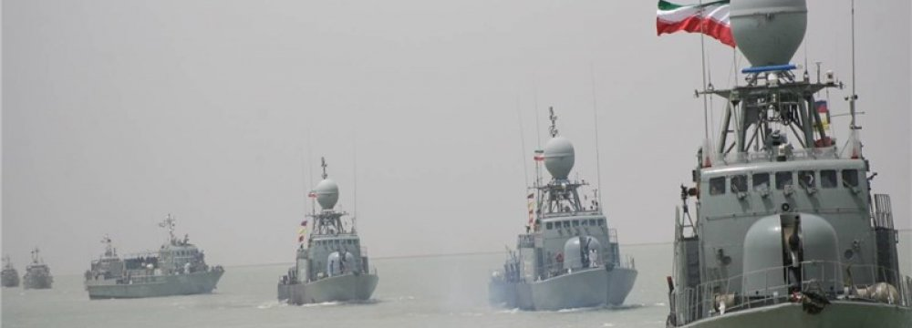 Naval Flotilla Returns Home
