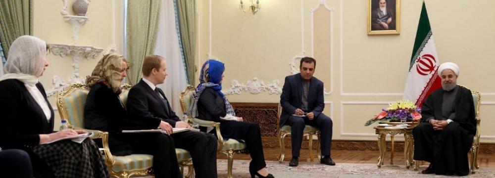 Tehran Welcomes  Broader EU Ties