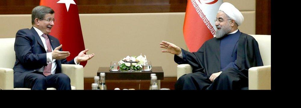 Strong Tehran-Ankara Ties Benefit Region