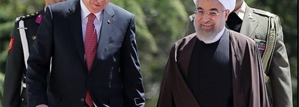 Rouhani to Meet Erdogan in Spring