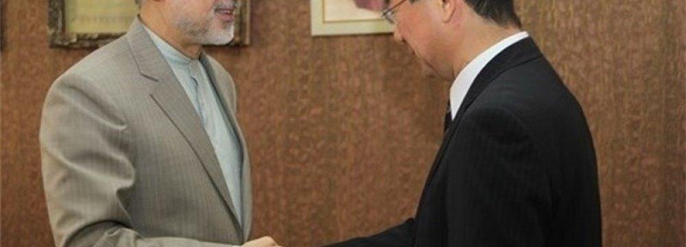 Talks on Tehran-Tokyo Nuclear Coop.