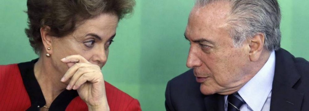 Brazil's VP Faces Impeachment