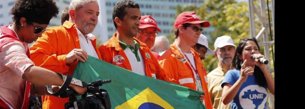 Lula Slams Brazil's Corruption Probe
