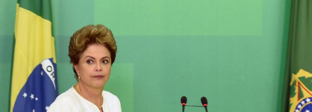 Brazil's Embattled Rousseff Loses PP From Coalition
