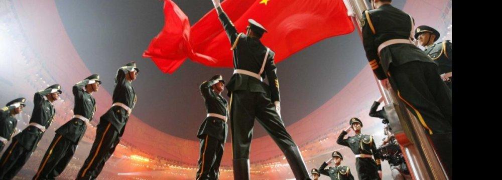 China Defense Bill Slackens