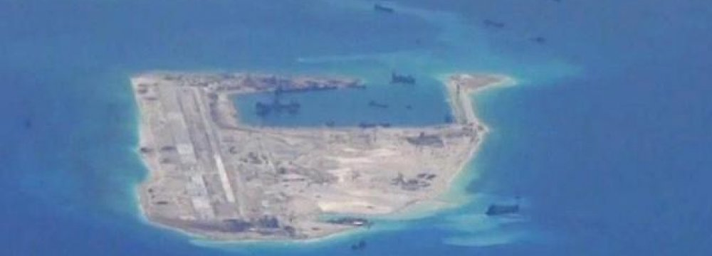 Chinese Aircraft Makes 1st Public Landing on Disputed Island