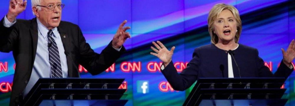 Clinton-Sanders Tensions Escalate