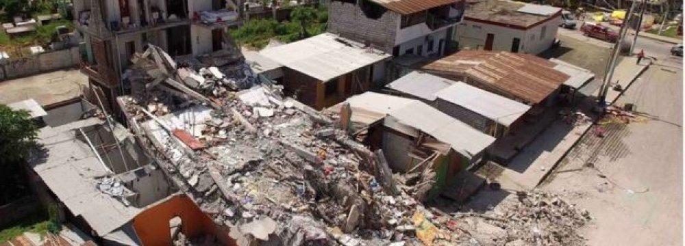 413 People Confirmed Dead in Ecuador
