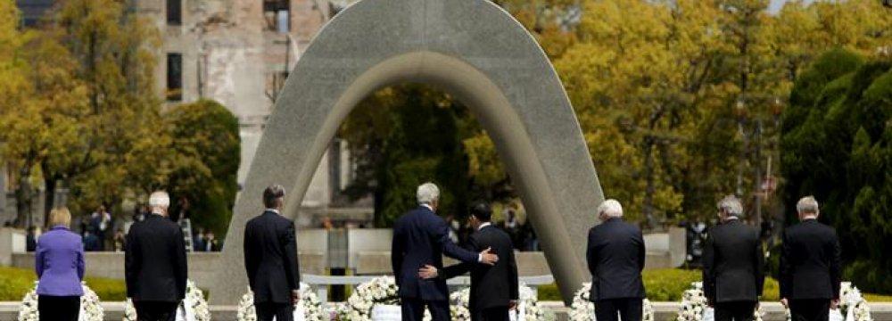 Kerry Made Historic Visit to Hiroshima