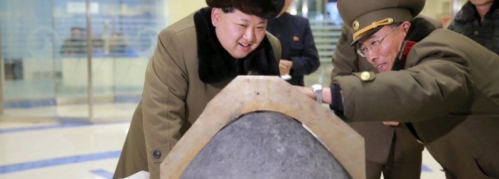 N. Korean Leader Supervised Test of  New Ballistic Missile Engine