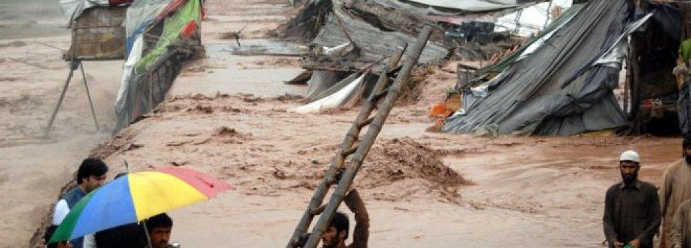 Pakistan Floods Kill at Least 53