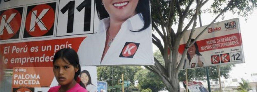 Rebel Attack Kills Soldiers Ahead of Peru Vote