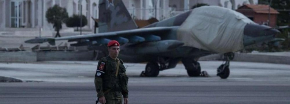 Russian Warplanes Return From Syria