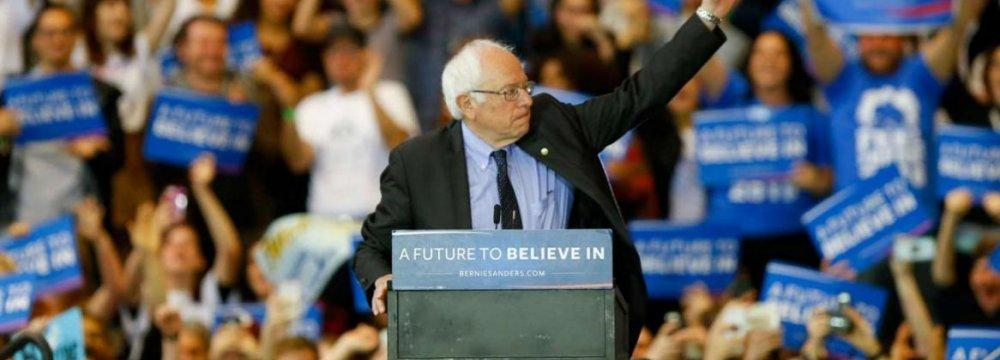 Sanders Beats Clinton in Wyoming