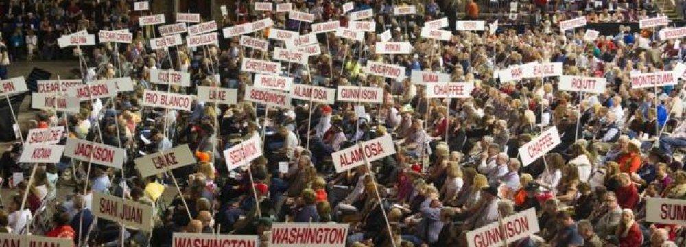 "Trump Lambasts ""Rigged"" Delegate System"