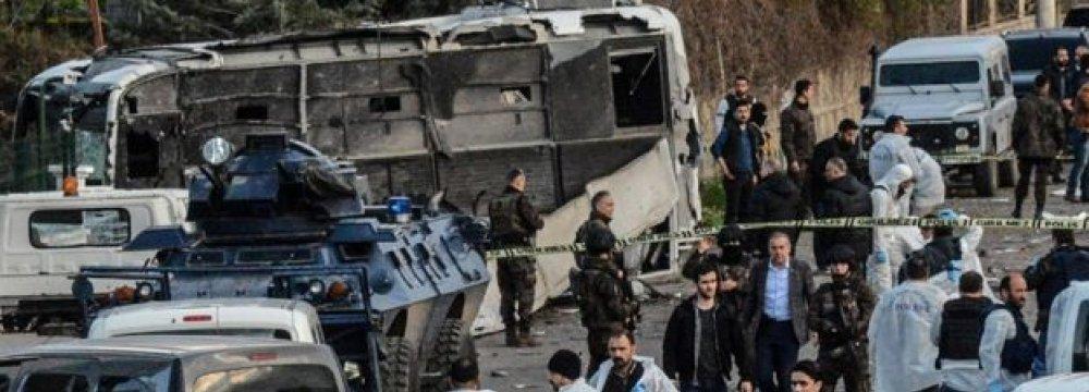 Troops Killed in Turkey Bombing