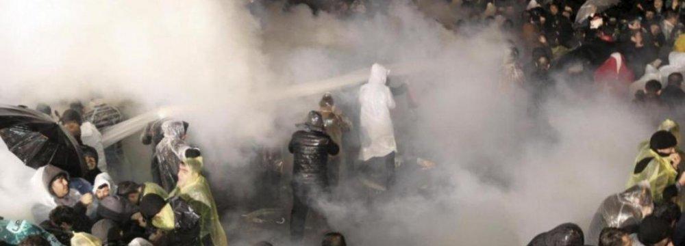 Turkish Police Raid Opposition Newspaper