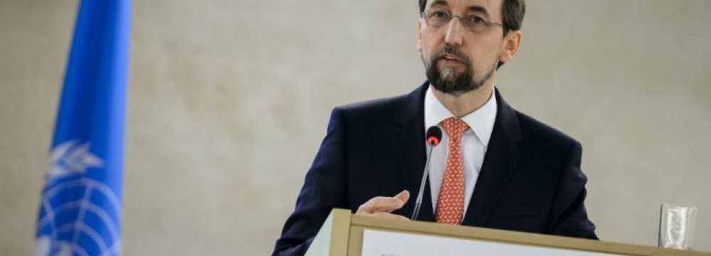 UN Rights Chief Blasts Trump Over Bigotry, Torture