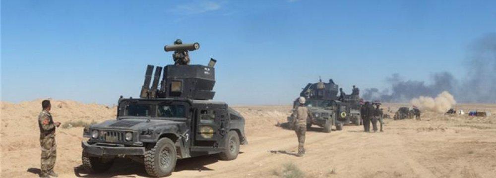 IS Kills Dozens of Iraqi Soldiers Near Ramadi
