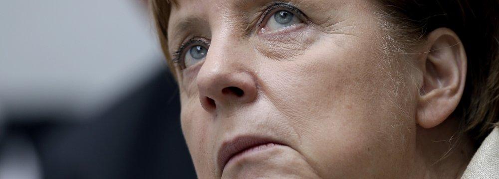 Huge Blow for Merkel