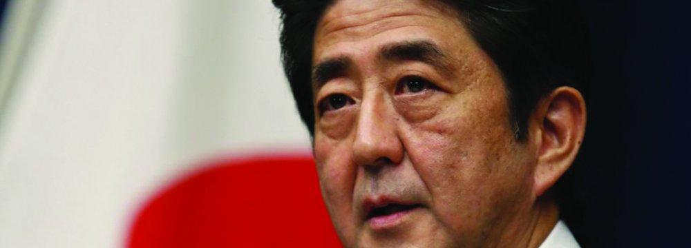 Japan's Abe Looks to Visit Iran