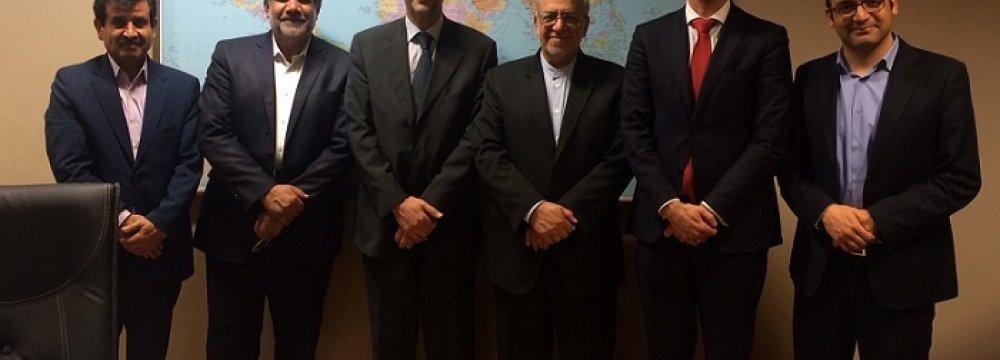 UNCTAD Mission Visits Tehran