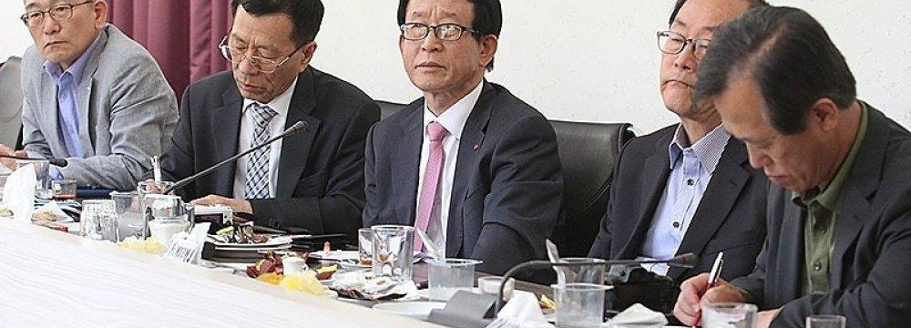 S. Korean Delegation in Isfahan