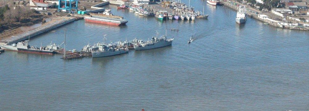 Anzali Port Throughput Thriving