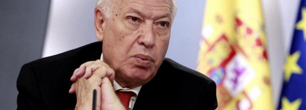 Spanish FM Mulls Iran Visit