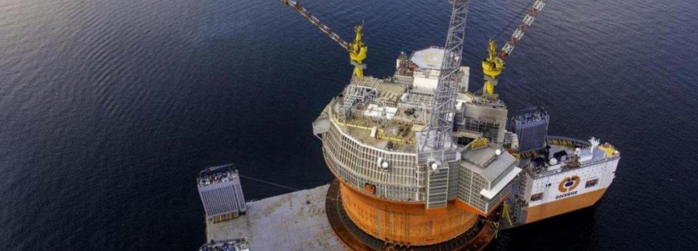 Eni Starts Arctic Production