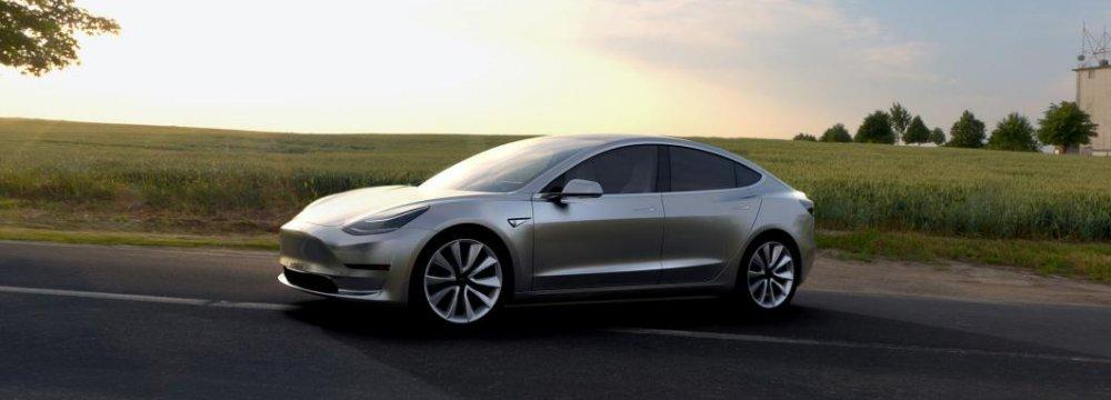 Tesla Unveils Model 3