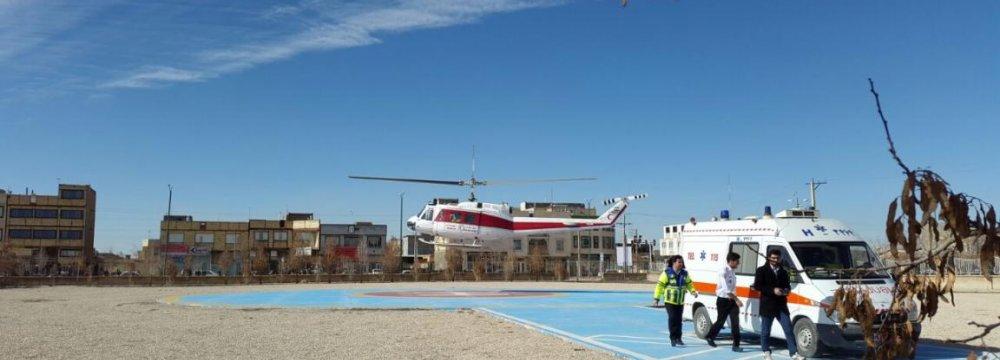 Air Ambulance for Hormozgan