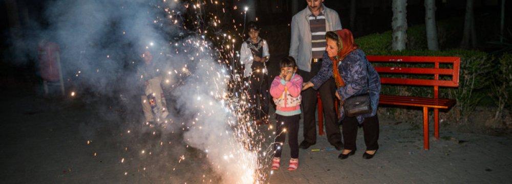 'Chaharshanbe Suri' Precautions
