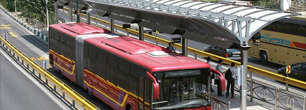 Waste Oil Testing for Selected Tehran Buses
