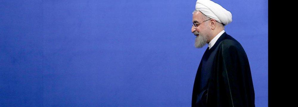 Rouhani Pledges Economic Progress
