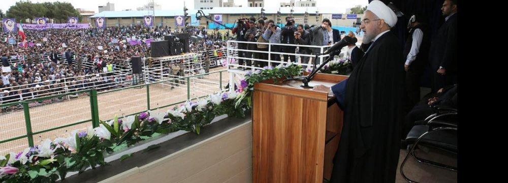 Rouhani Reaffirms JCPOA Merits