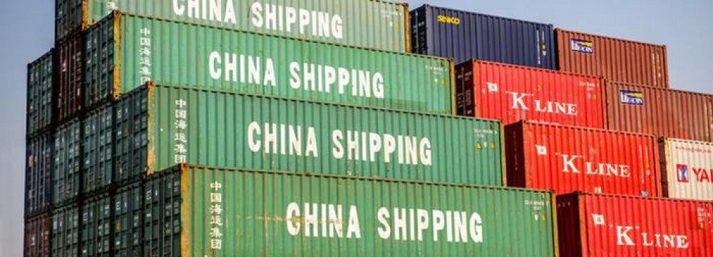 China Exports Rise